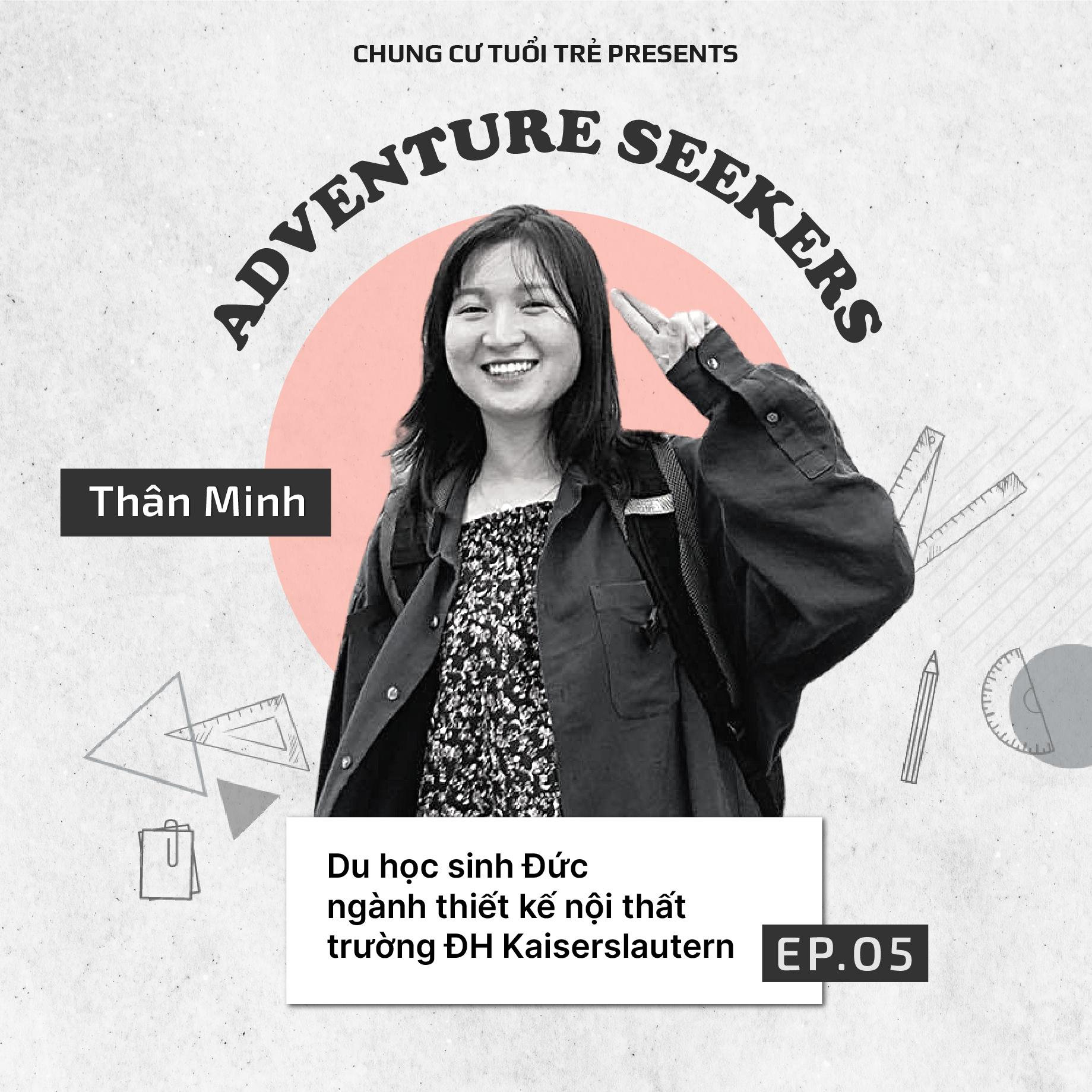 Adventure Seekers #5: Thân Minh và niềm đam mê tiếng Đức